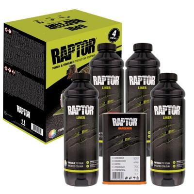 Vopsea Raptor Negru kit 3.8 Litri