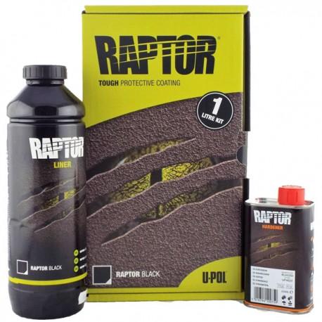 Vopsea Raptor Negru kit 0.95 Litri