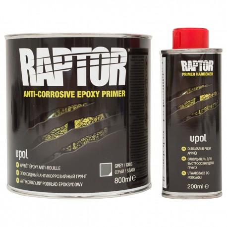 Raptor Grund Epoxy Anti-Coroziv kit 1Litru